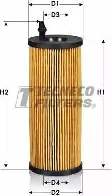 Tecneco Filters OL010660E - Масляний фільтр autocars.com.ua