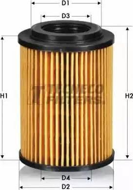 Tecneco Filters OL011277-E - Масляний фільтр autocars.com.ua