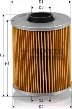 Tecneco Filters OL0200 - Масляний фільтр autocars.com.ua