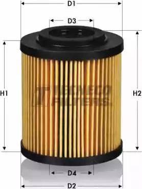 Tecneco Filters OL0226-E - Масляний фільтр autocars.com.ua