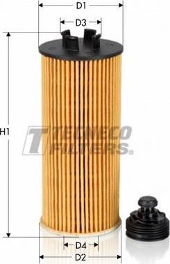 Tecneco Filters OL06015-E - Масляний фільтр autocars.com.ua