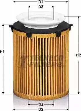 Tecneco Filters OL0711/6-E - Масляний фільтр autocars.com.ua