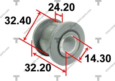 Tenacity AAMTO1112 - Втулка, вал рулевого колеса avtokuzovplus.com.ua