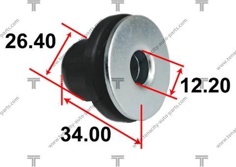 Tenacity AAMTO1128 - Втулка, вал рулевого колеса car-mod.com