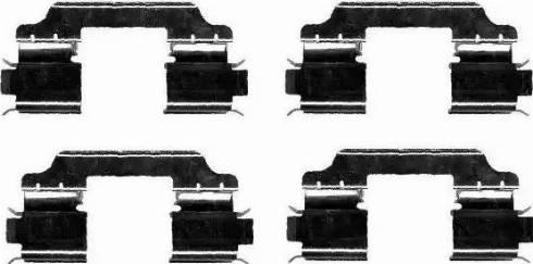 Textar 82055900 - Комплектующие, колодки дискового тормоза avtokuzovplus.com.ua
