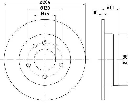 Textar 92022400 - Тормозной диск autodnr.net