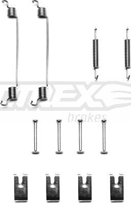 TOMEX brakes TX 40-41 - Комплектующие, тормозная колодка autodnr.net