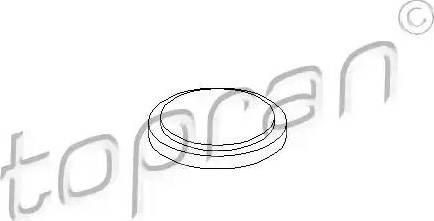 Topran 100084 - Фланцевая крышка, ступенчатая коробка передач car-mod.com