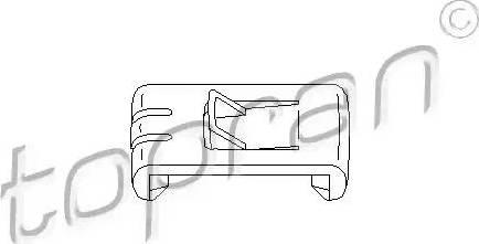 Topran 102673 - Актуатор, регулировка сидения car-mod.com