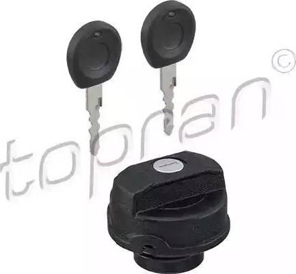 Topran 102 746 - Крышка, топливный бак car-mod.com