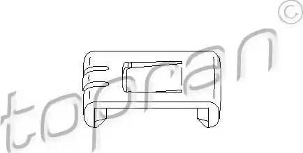 Topran 102921 - Актуатор, регулировка сидения car-mod.com