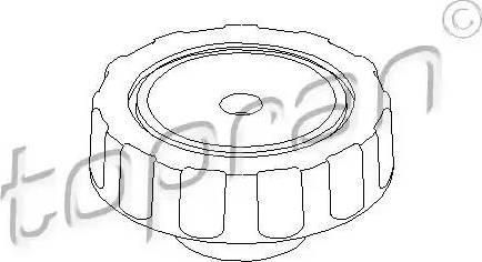 Topran 102924 - Поворотная ручка, регулировка спинки сидения car-mod.com
