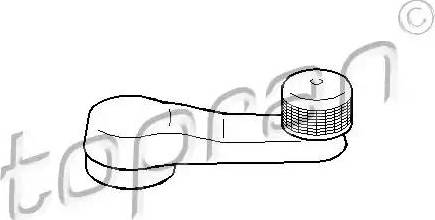 Topran 103101 - Ручка стеклоподъемника car-mod.com
