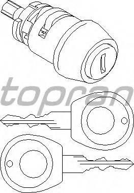 Topran 103560755 - Цилиндр замка autodnr.net