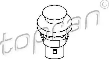 Topran 104035 - Выключатель, контакт двери car-mod.com