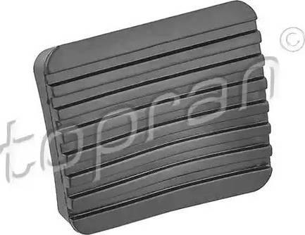 Topran 104190 - Накладка на педаль, педаль сцепления car-mod.com