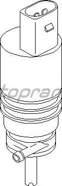 Topran 107818755 - Водяной насос, система очистки окон autodnr.net