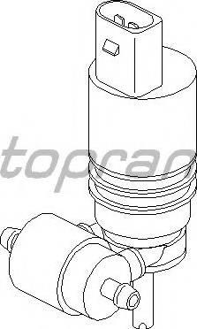 Topran 107819755 - Водяной насос, система очистки окон autodnr.net