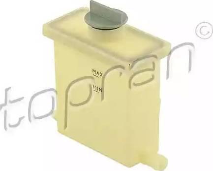 Topran 108687 - Компенсационный бак, гидравлического масла усилителя руля car-mod.com