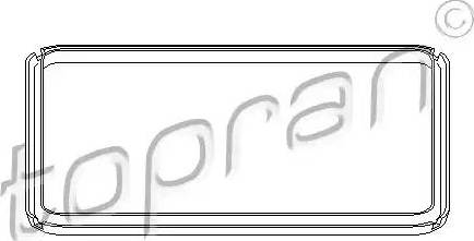Topran 108756 - Прокладка, масляный поддон автоматической коробки передач car-mod.com