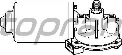 Topran 108792755 - Двигатель стеклоочистителя car-mod.com