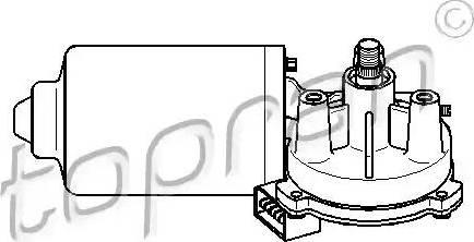 Topran 108792 - Двигатель стеклоочистителя car-mod.com