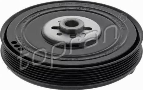 Topran 109 798 - Ременный шкив, коленчатый вал car-mod.com