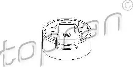 Topran 110 136 - Подушка, подвеска двигателя car-mod.com