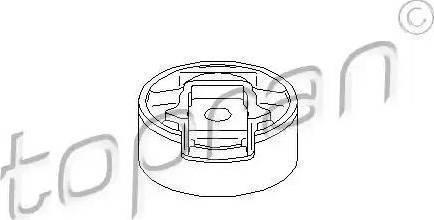 Topran 110 134 - Подушка, опора, подвеска двигателя car-mod.com