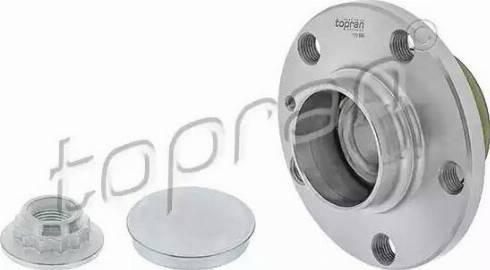 Topran 110 998 - Ступица колеса autodnr.net