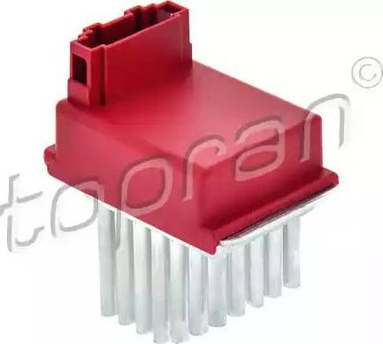Topran 111 035 - Регулятор, вентилятор салона car-mod.com