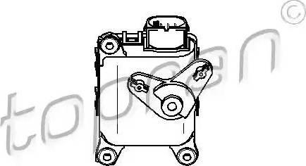 Topran 111100 - Регулировочный элемент, смесительный клапан car-mod.com