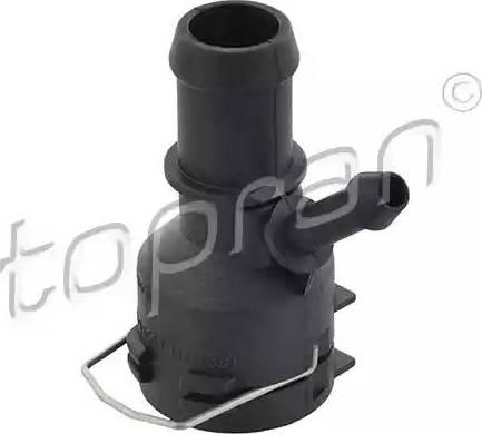 Topran 111 238 - Фланец охлаждающей жидкости car-mod.com