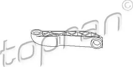 Topran 111 564 - Шток вилки перемикання передач autocars.com.ua