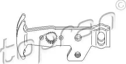 Topran 111 566 - Ремкомплект, важіль перемикання autocars.com.ua