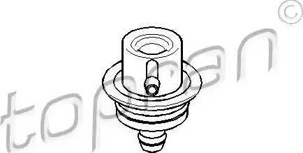 Topran 108125 - Регулятор давления подачи топлива car-mod.com