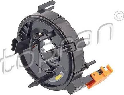 Topran 112409 - Витая пружина, подушка безопасности car-mod.com