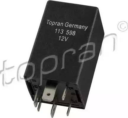 Topran 113598 - Реле, кондиционер avtokuzovplus.com.ua
