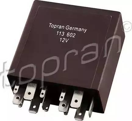 Topran 113 602 - Реле, интервал включения стеклоочистителя car-mod.com