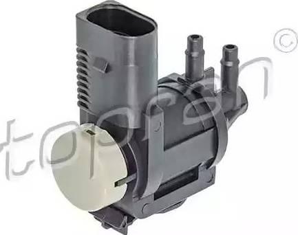 Topran 115383 - Переключающийся вентиль, заслонка выхлопных газов car-mod.com