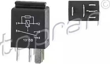 Topran 115664 - Реле, вентилятор радиатора avtokuzovplus.com.ua