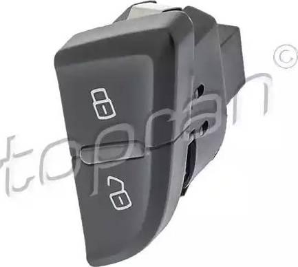 Topran 116028 - Выключатель, фиксатор двери car-mod.com