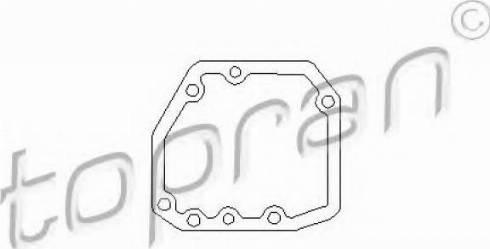 Topran 201539346 - Прокладка, привод коробки переключения передач autodnr.net