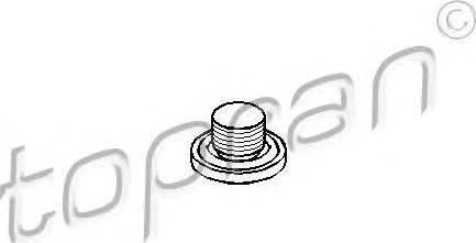 Topran 205 110 466 - Резьбовая пробка, масляный поддон car-mod.com
