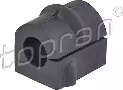 Topran 205 467 - Втулка стабилизатора, нижний сайлентблок car-mod.com