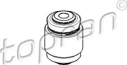 Topran 205 488 - Подвеска, корпус колесного подшипника car-mod.com