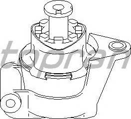 Topran 205 613 755 - Подушка, подвеска двигателя car-mod.com