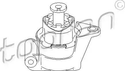 Topran 205 613 - Подушка, подвеска двигателя car-mod.com
