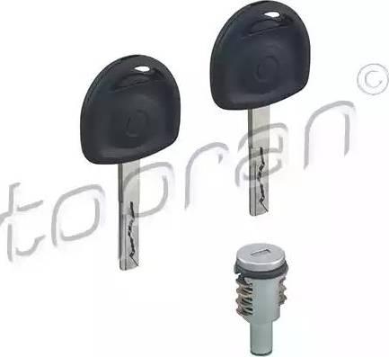 Topran 205811 - Цилиндр замка car-mod.com