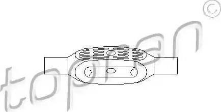 Topran 206 938 - Шток вилки переключения передач autodnr.net